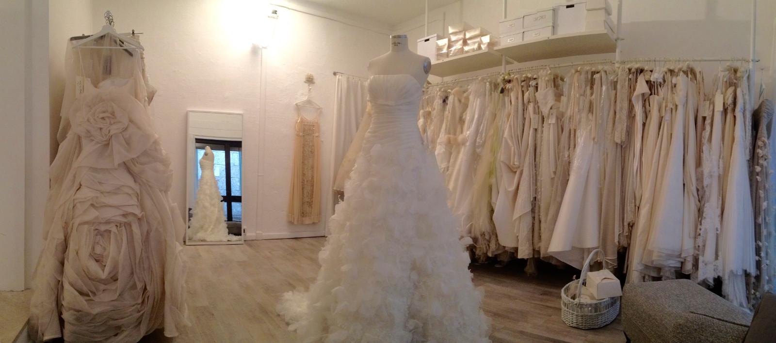 Atelier Vestiti Da Sposa.Noleggio Vendita Abiti Da Sposa Sposo Cerimonia Sera La Cler